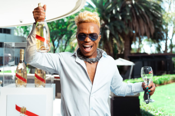 events magazine, Somizi and G.H Mumm