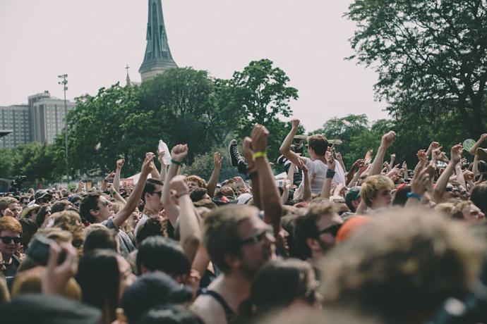 Pitchfork Crowd