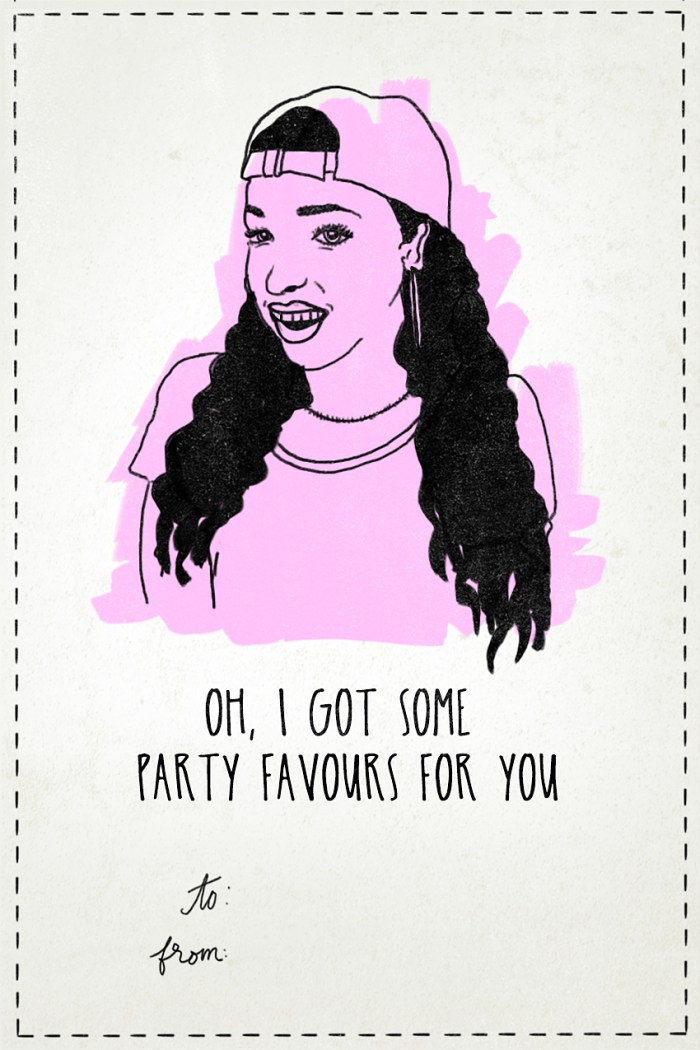 Tinashe - Valentine's Day Card