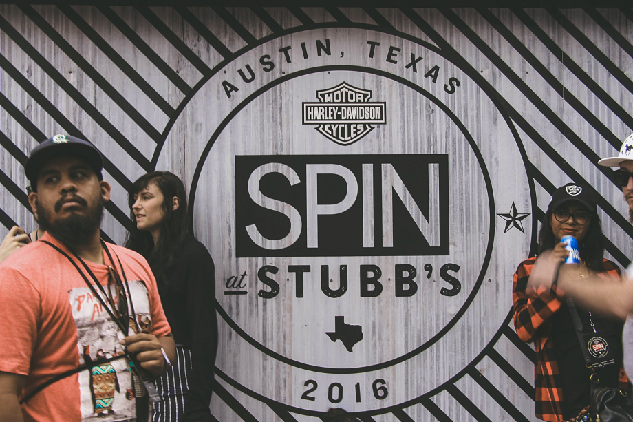 SPIN At Stubb's 2016