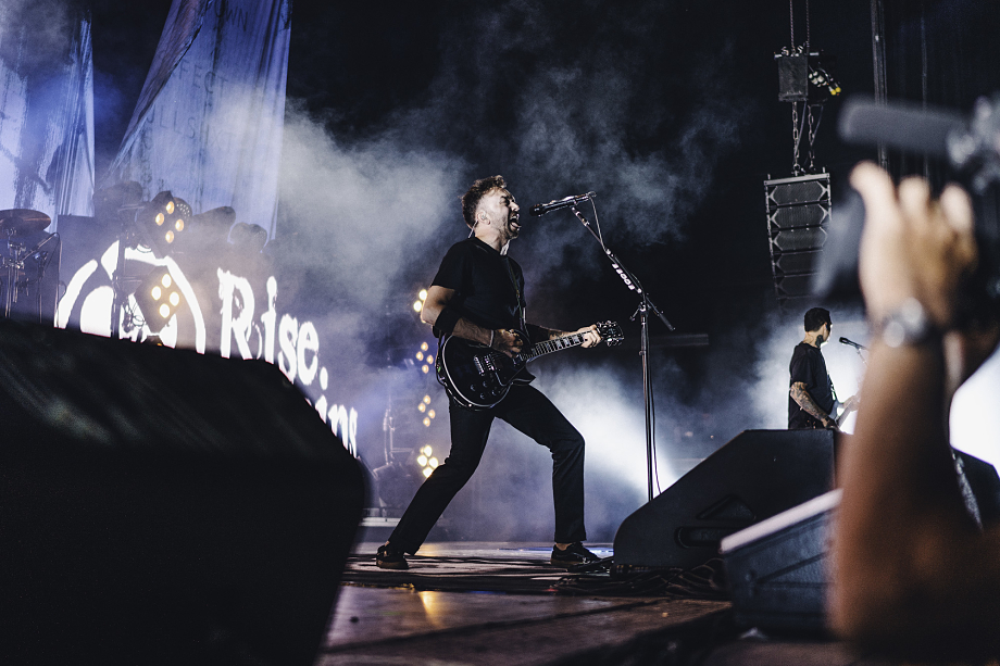 Rise Against at Budweiser Stage