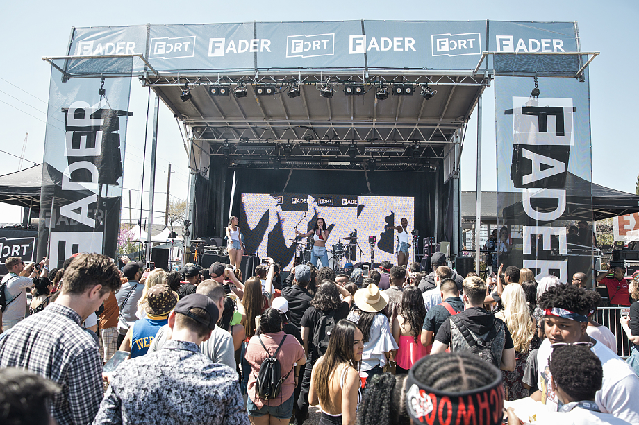 Saweetie - The Fader Fort-7