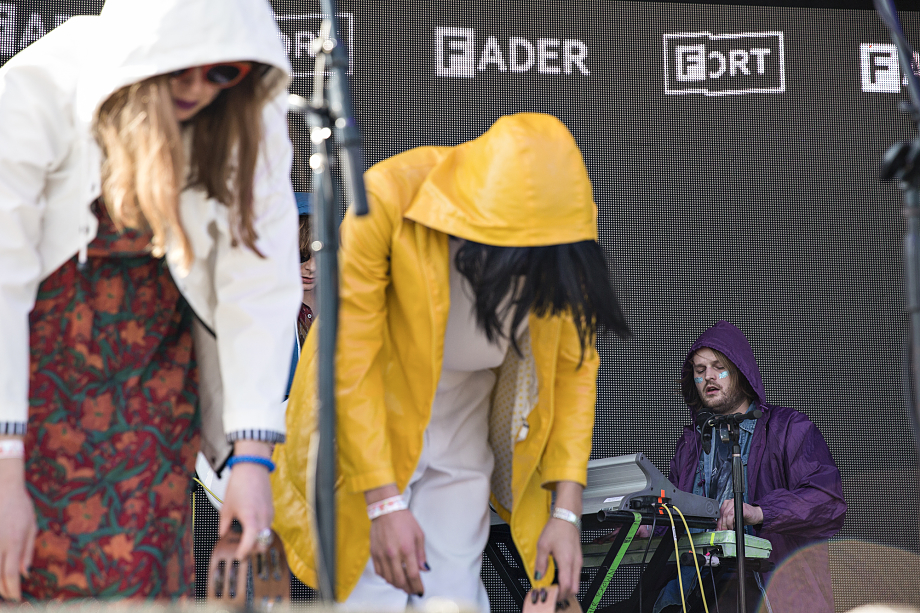 Superorganism - The Fader Fort-5