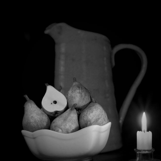 4. Pears & Raku Jug