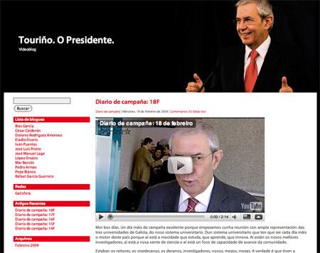 Blog de Touriño