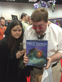 Beholding the HORROR! (From Chaosium's Blog)