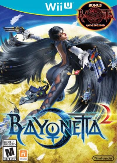 Bayonetta 2 Cover Art
