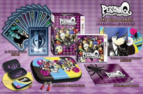 Persona Q Wild Cards Collectors Edition