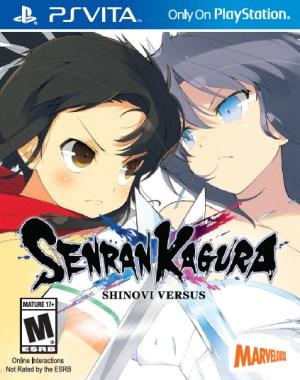 Senran Kagura Shinovi Versus Package Art