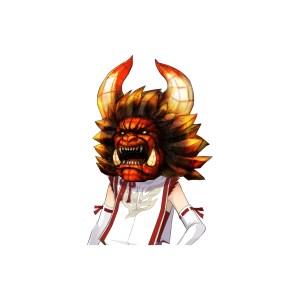 Toukiden_Face_mask_of_GOUENMA