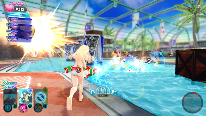 SENRAN KAGURA Peach Beach Splash - Screenshot04