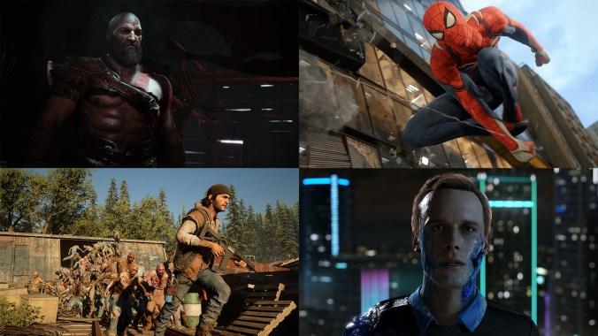 days-gone-detroit-god-of-war-spider-man