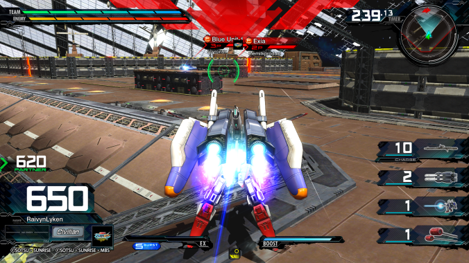 MOBILE SUIT GUNDAM EXTREME VS_ MAXIBOOST ON Network Test_20200426023734