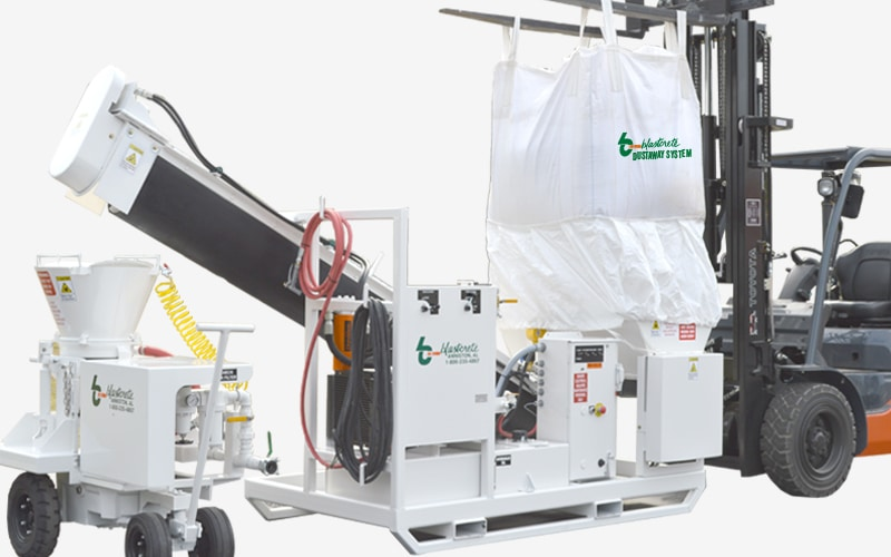 DustAway Bulk Bag Silica Dust Containment System