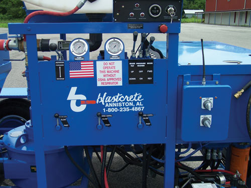 D6528 Concrete Pump Controls