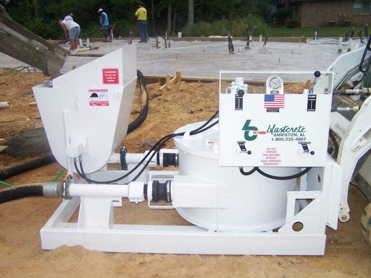 Skid Steer Concrete Pump