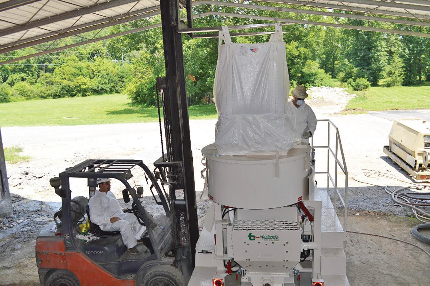 Concrete Dust Collection System Bulk Bag