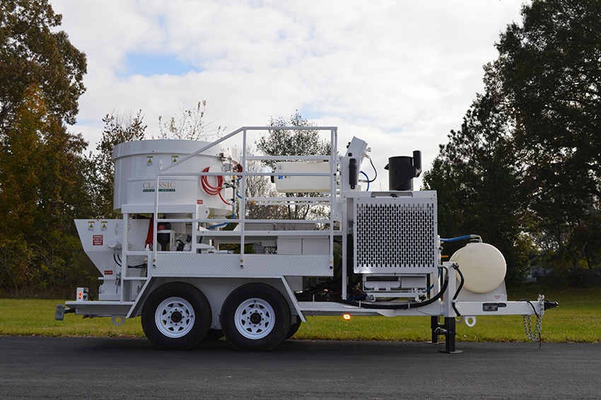 MX-20MT Shotcrete Mixer Pump