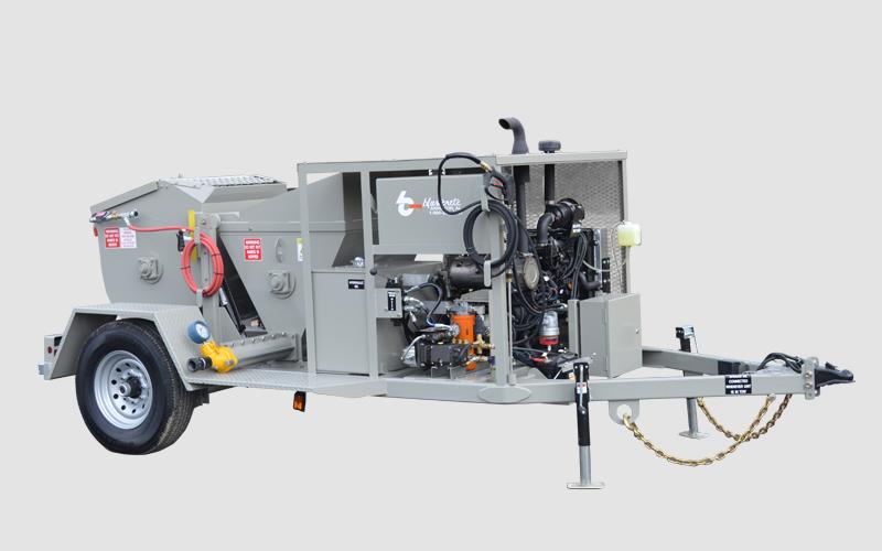 RS-60 Shotcrete Mixer Pump