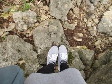 walking rocks (Mines of Spain, Dubuque)