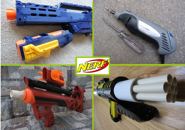 Nerf Nite Finder Terra Nova prop Tactical Scope parts