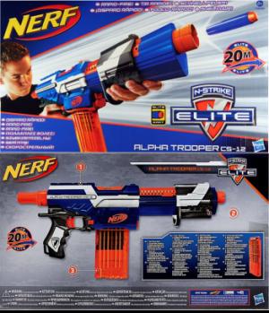 N-Strike Elite Alpha Trooper packaging