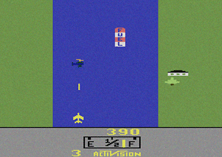 River Raid for Atari 2600, Media credit/Courtesy of Wikimedia