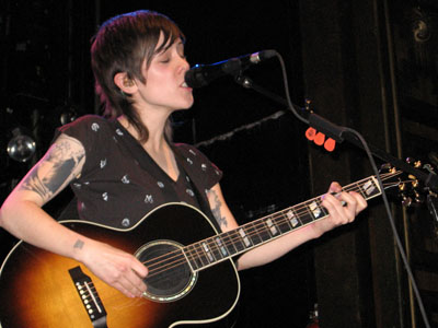 Recent Tegan and Sara concert in New York