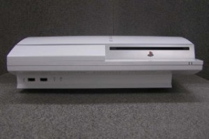 A concept white PS3 photo submitted to the FCC by Sony