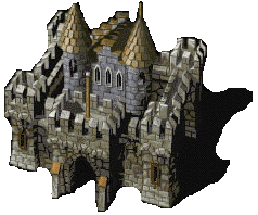 A castle from Knights and Merchants