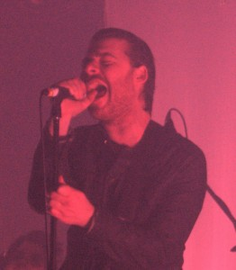 Shiny Toy Guns perform at Santos Party House on Tuesday night of CMJ Week