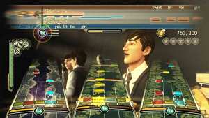 Three-part vocal harmony is part of what makes Beatles Rock Band different from all other music games