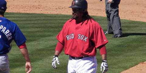Manny Ramirez, Courtesy of Wikimedia Commons