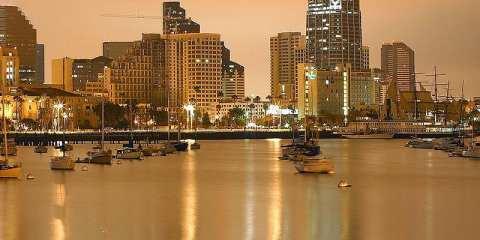 San Diego shoreline from Wikimedia Commons