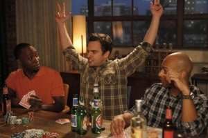 "Nick incurs serious debt to Winston from a poker game, and Schmidt tries to relax on ""New Girl."""