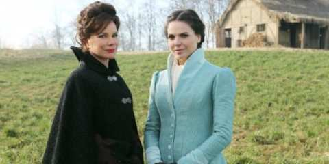 Barbara Hershey stars as the mother who turns her daughter, Regina (Lana Parilla), into a wicked queen.