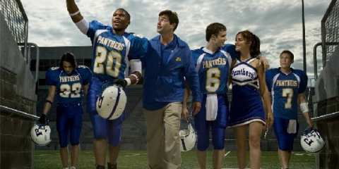 "The principal cast of ""Friday Night Lights,"" a groundbreaking series about a football-obsessed town in Texas."