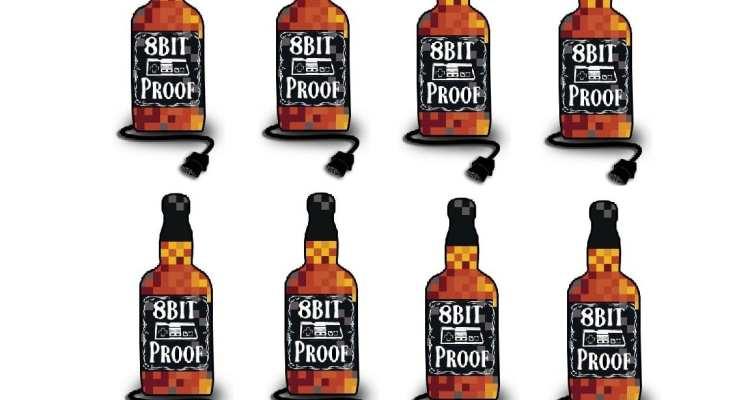 8bit Proof Logo Many