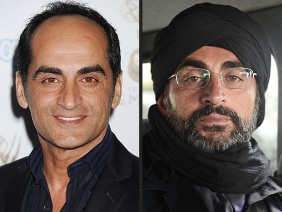 "On one side, a gentle Iranian-born acor, on the other the Al-Qaeda mastermind named Abu Nazir on ""Homeland."""