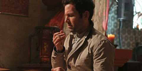 August (Eion Bailey) asks for help in order to stop him from turning to wood.