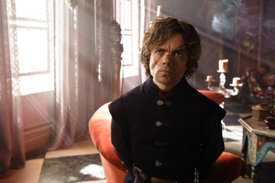Tyrion (Peter Dinklage) learns more of his future as Master of Coin.
