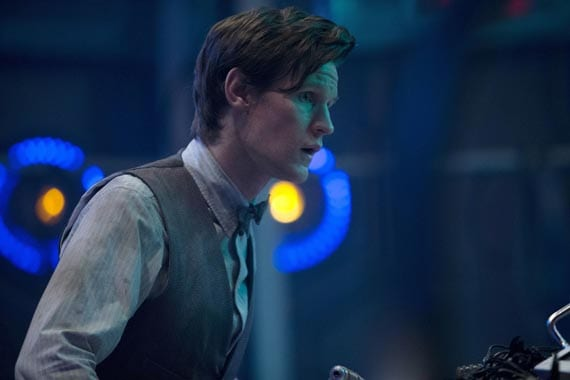 The Doctor (Matt Smith) tries to find Clara in time.