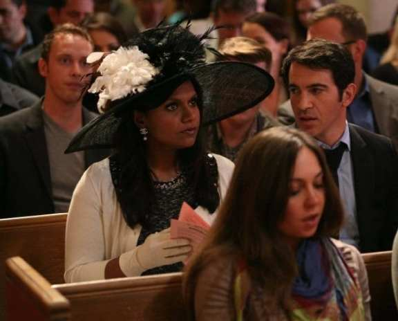 Mindy heads to both church and prison to impress her new date, minister Casey (Anders Holm)