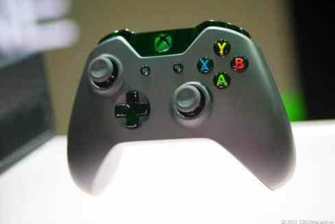 A closer look at the controller for the new Xbox One.