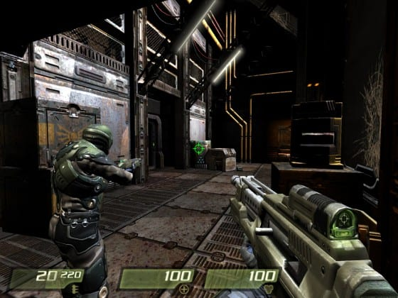 Maxing out the specs in a game like Quake IV help show why the computer isn't dying