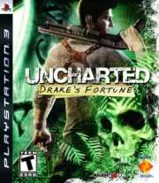Uncharted Cover Playstation 3 exclusive