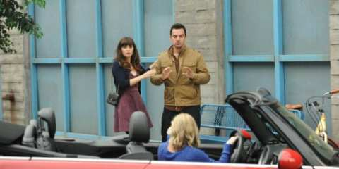 Jess (Zooey Deschanel) and Nick (Jake Johnson) must confront their exes in this weeks episode of New Girl.