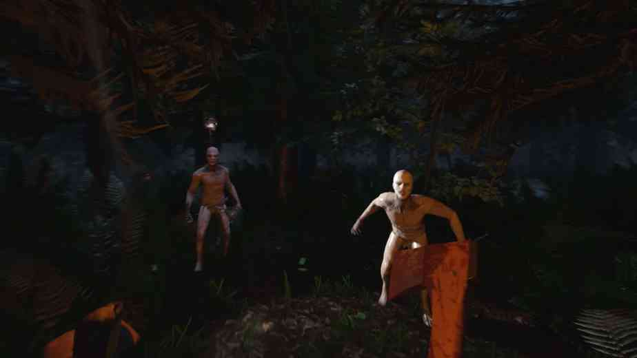The Forest is a survival game with a touch of horror.