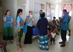 Sea Mercy team meets with local health care workers once the NCD (Non-Communicable Diseases) awareness months ended.