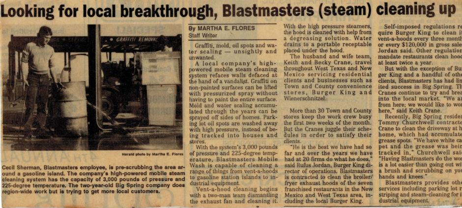 BlastMasters News Article